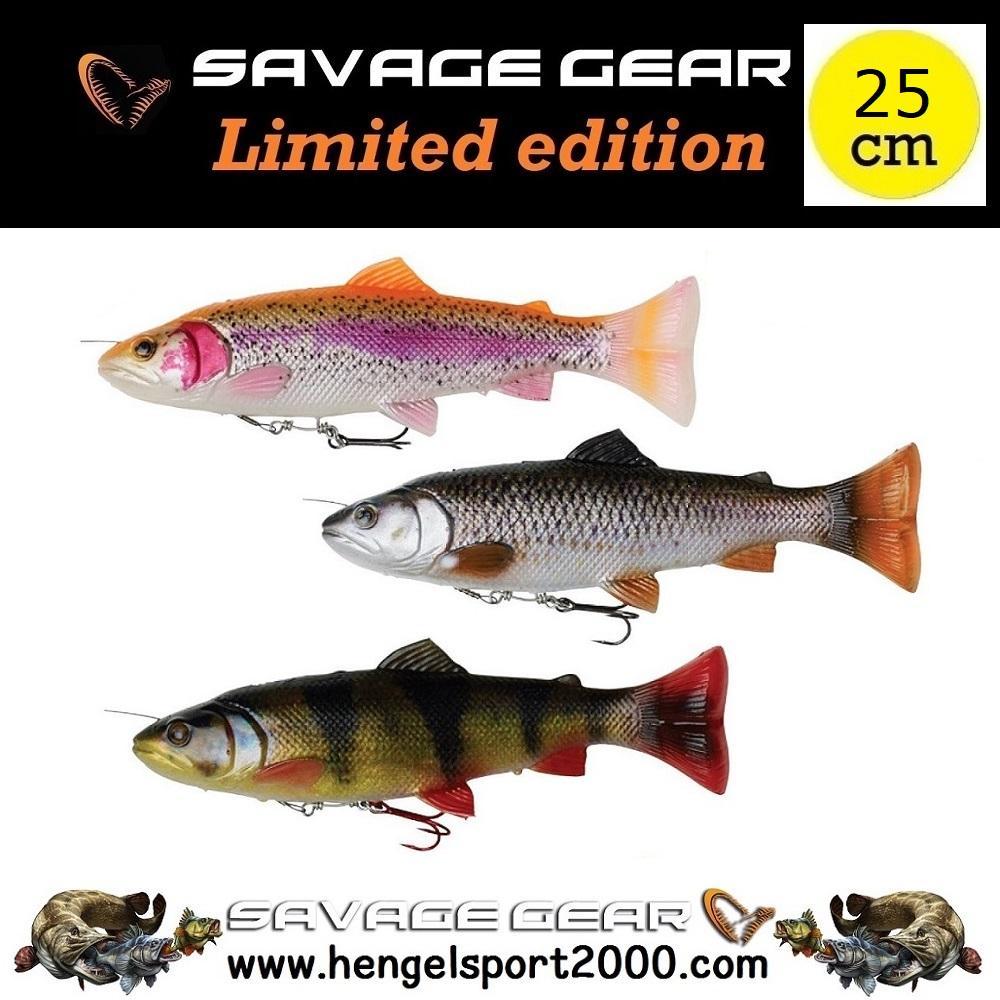 Savage Gear 4D Line Thru Pulse Tail Trout 25 cm