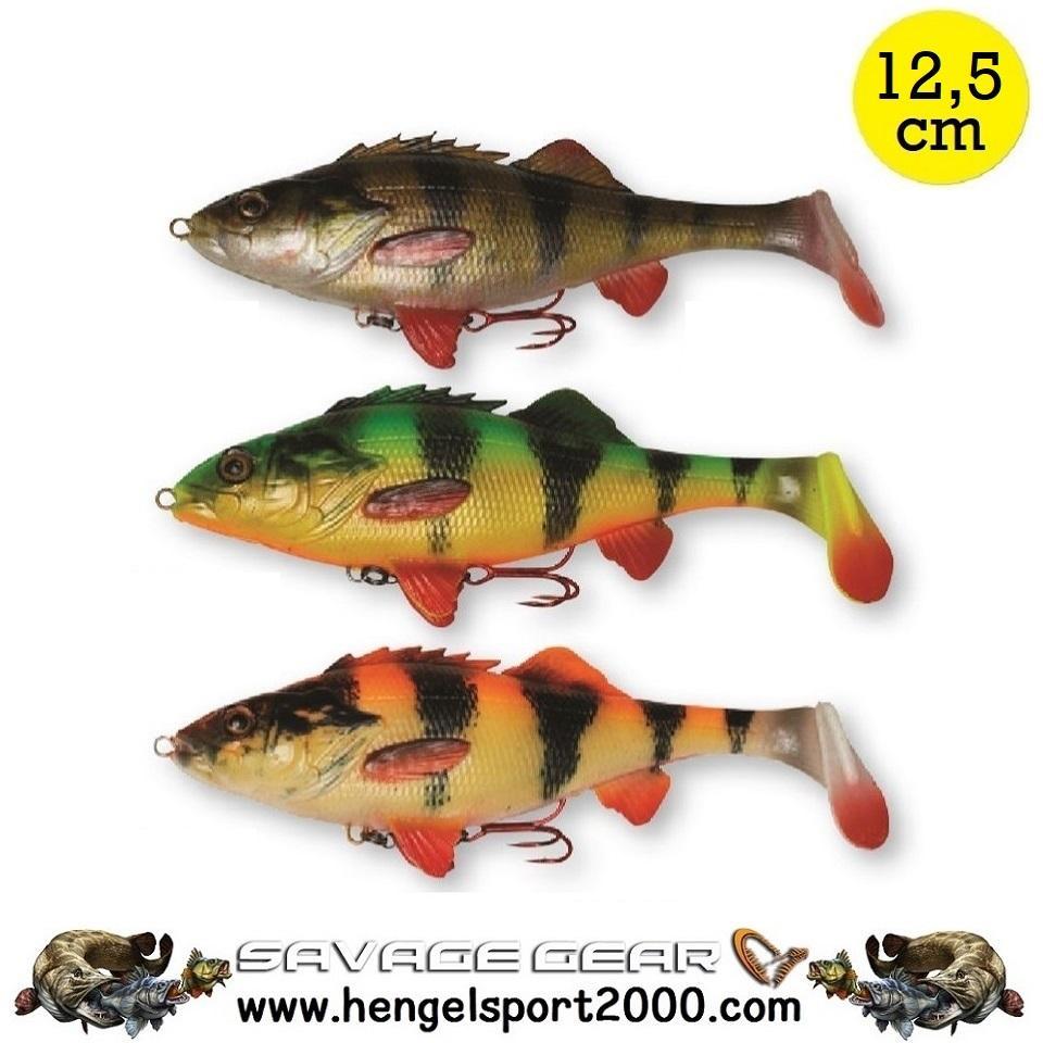 Savage Gear 4D Perch Shad 12.5 cm