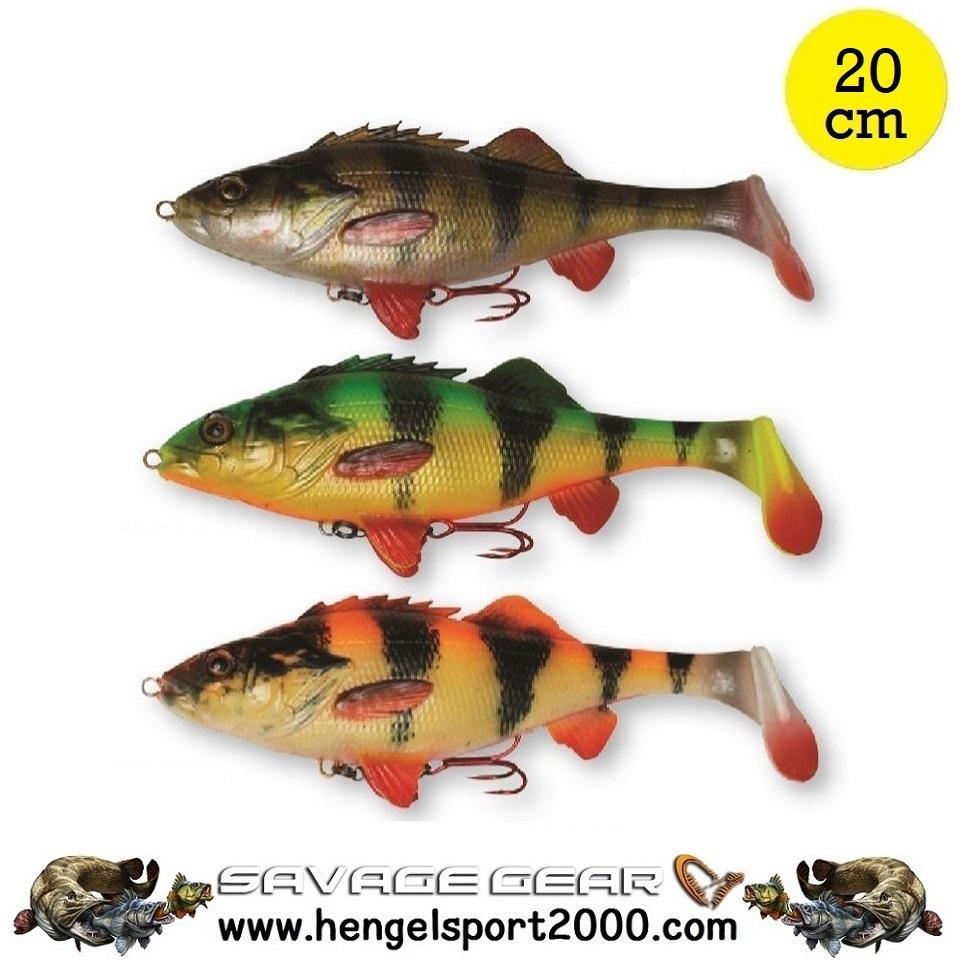 Savage Gear 4D Perch Shad 20 cm