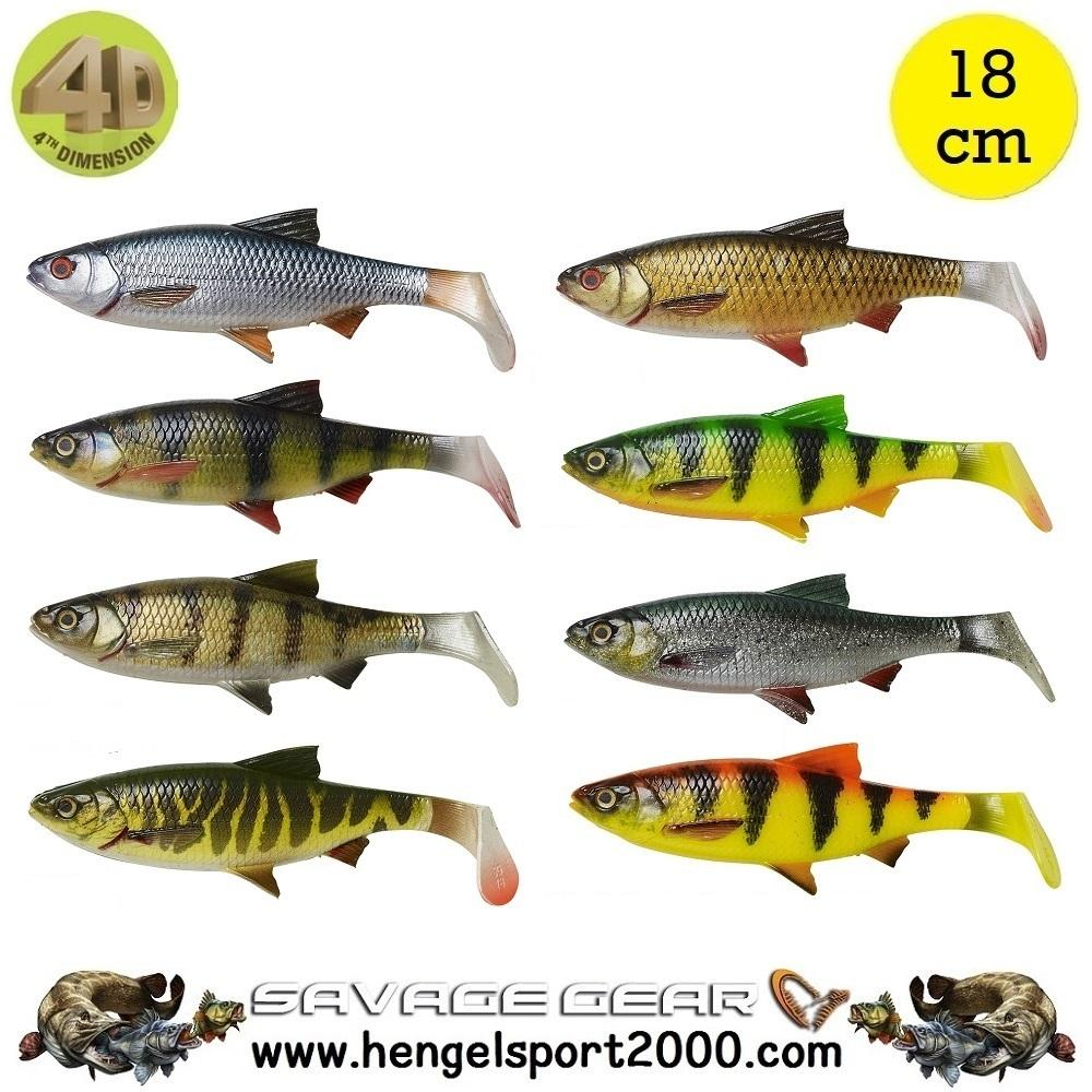 Savage Gear 4D River Roach 18 cm