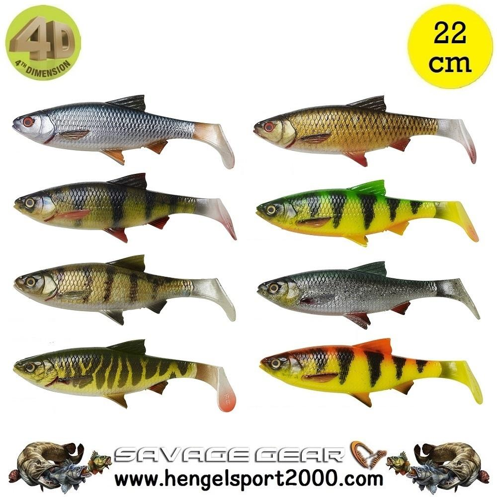 Savage Gear 4D River Roach 22 cm