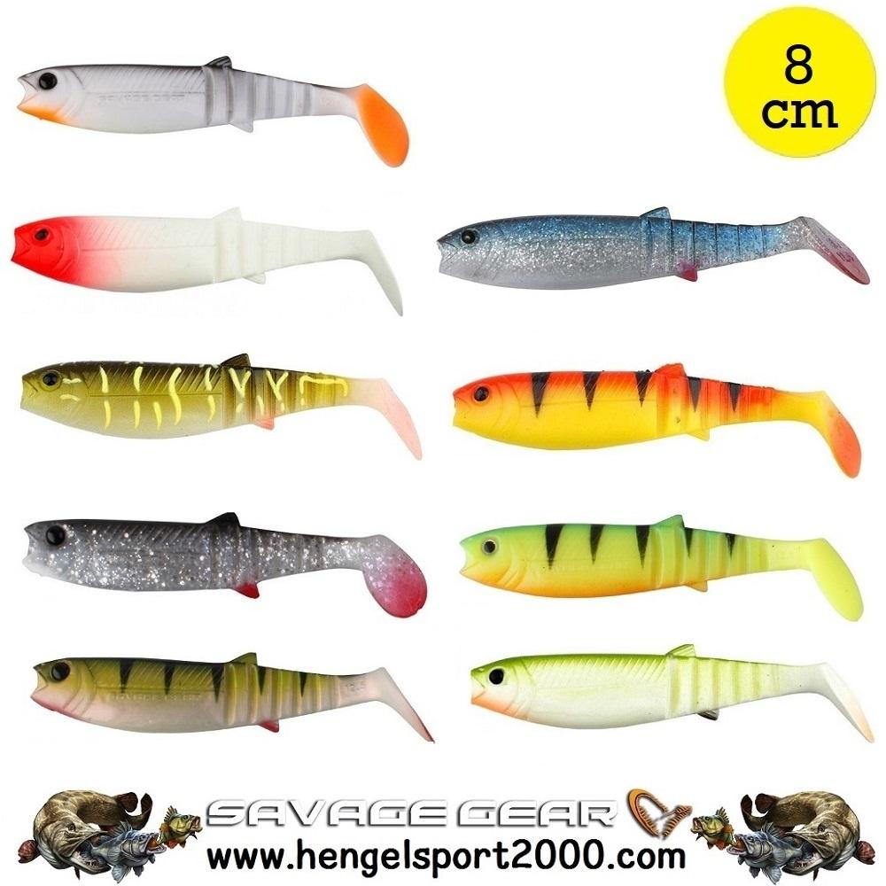 Savage Gear Cannibal Shad 8 cm