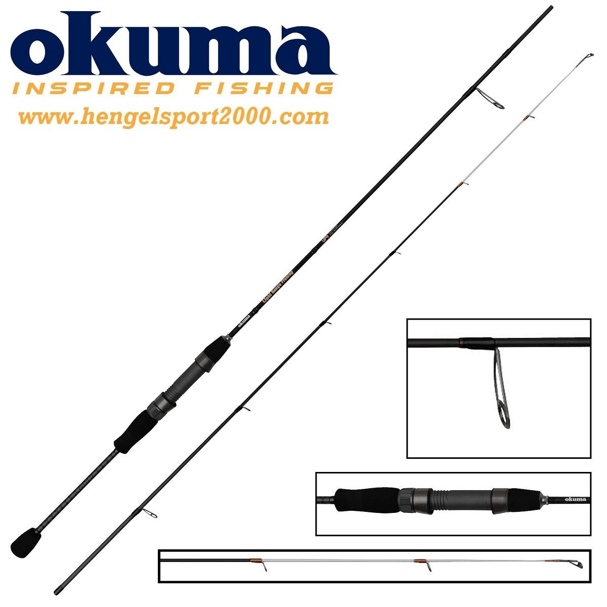 Okuma Light Range Fishing Spin 185 cm 1 - 7 gram