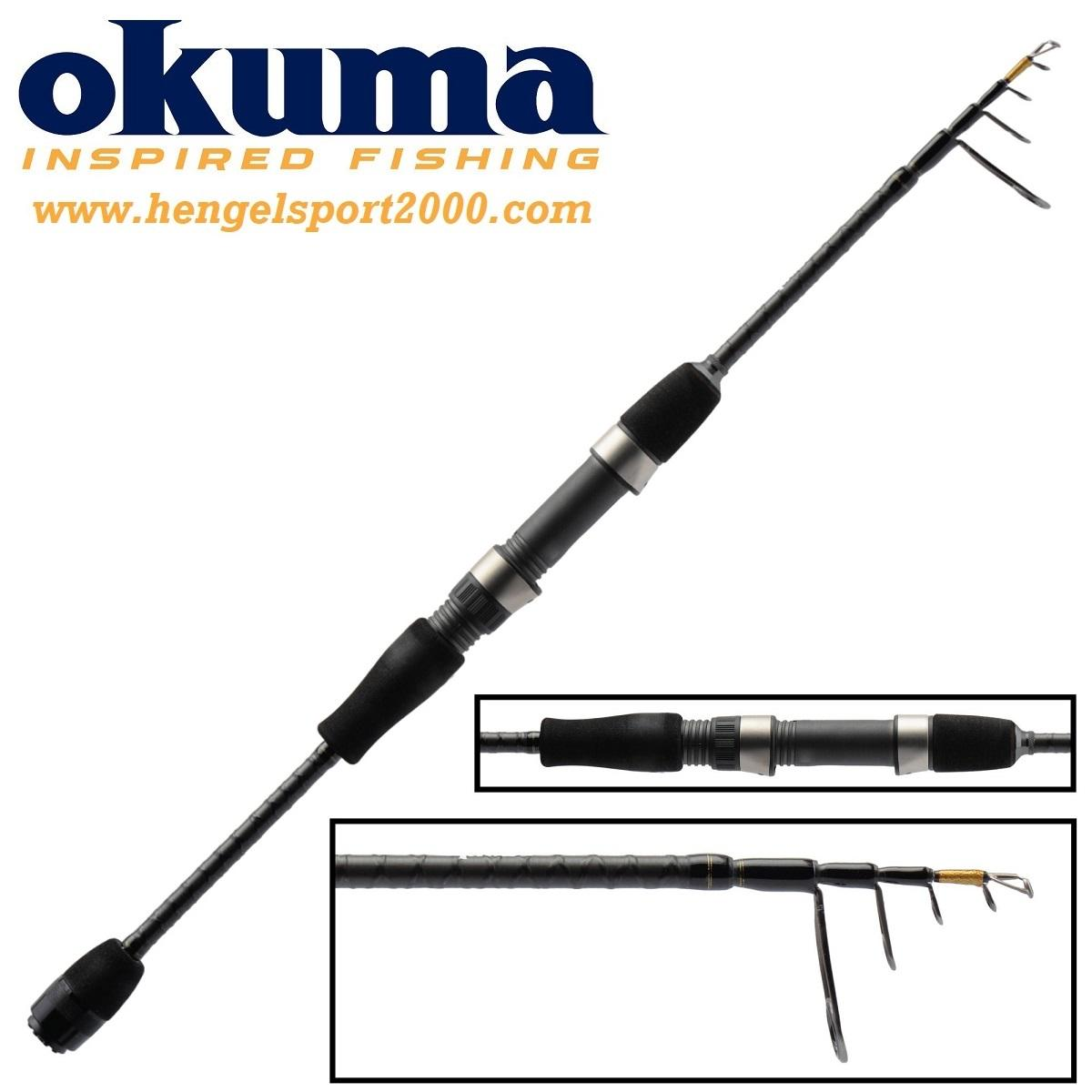 Okuma Light Range Fishing Tele Spin 210 cm 3 - 12 gram