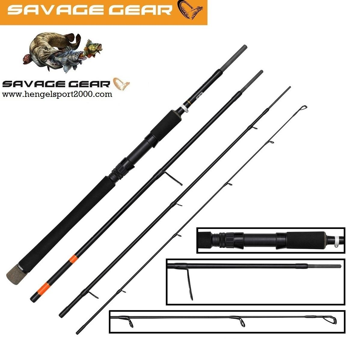 Savage Gear Multi Purpose Predator2 Travel 243cm 40 - 80 gram