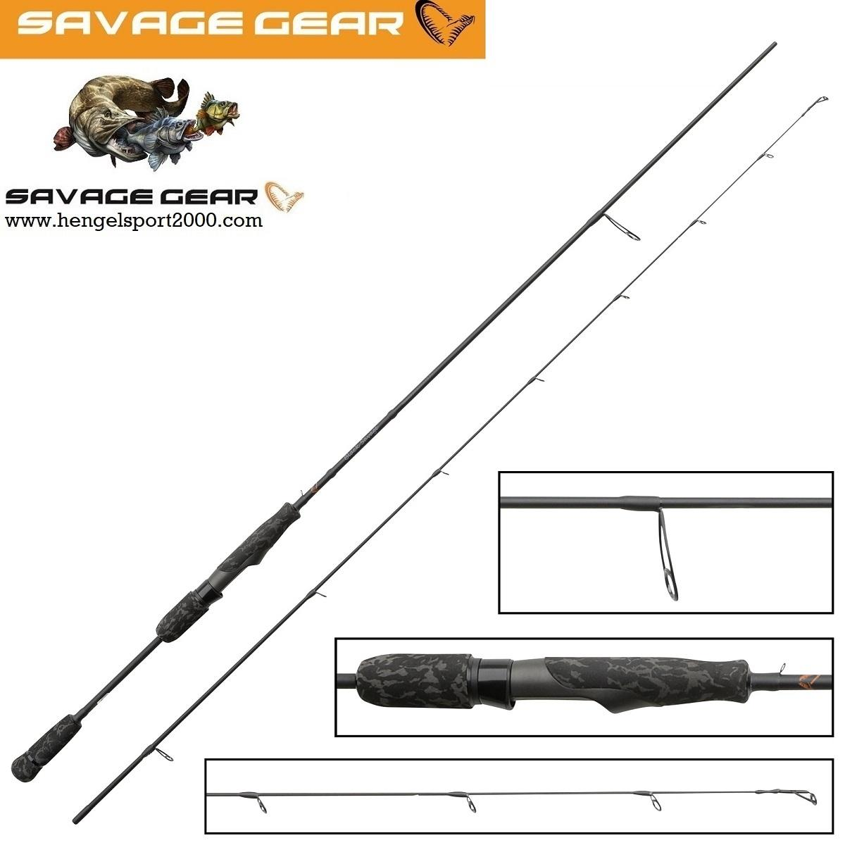 Savage Gear Black Savage Spin Rod 198 cm 2 - 7 gram