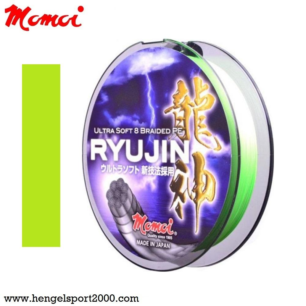 Momoi Ryujin 8 Braid PE Lines Lemon Green