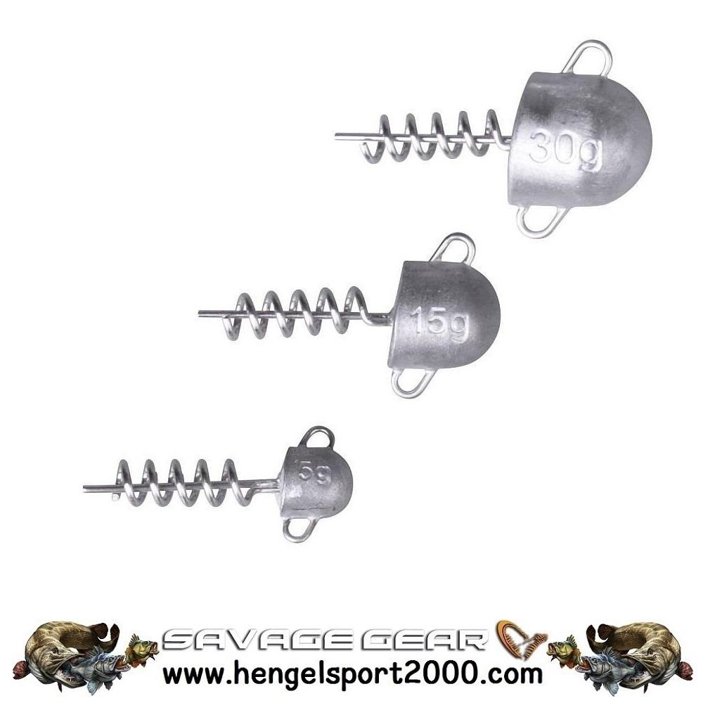 Savage Gear Corkscrew Heads