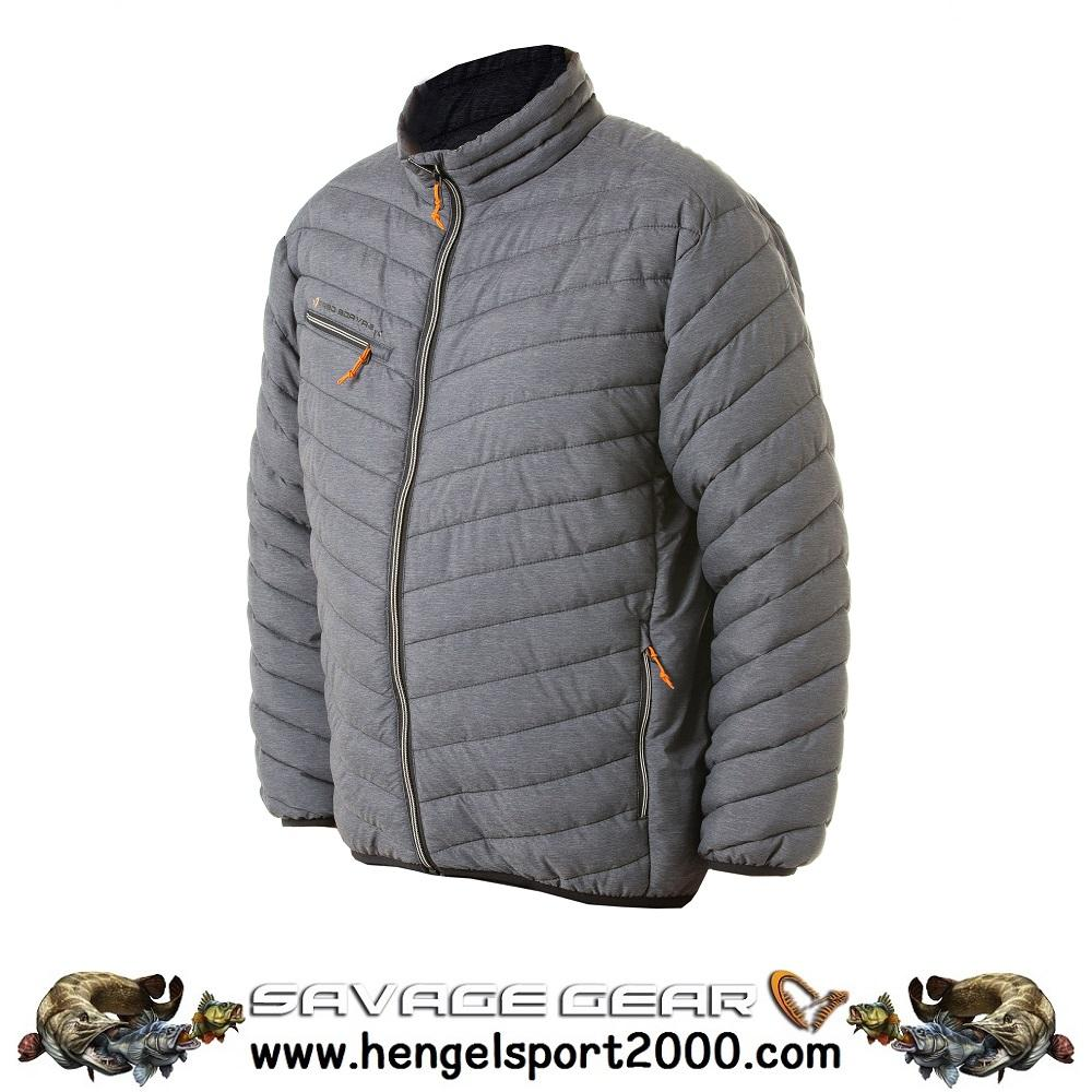 Savage Gear Simply Savage Thermo Jacket Grey Melange