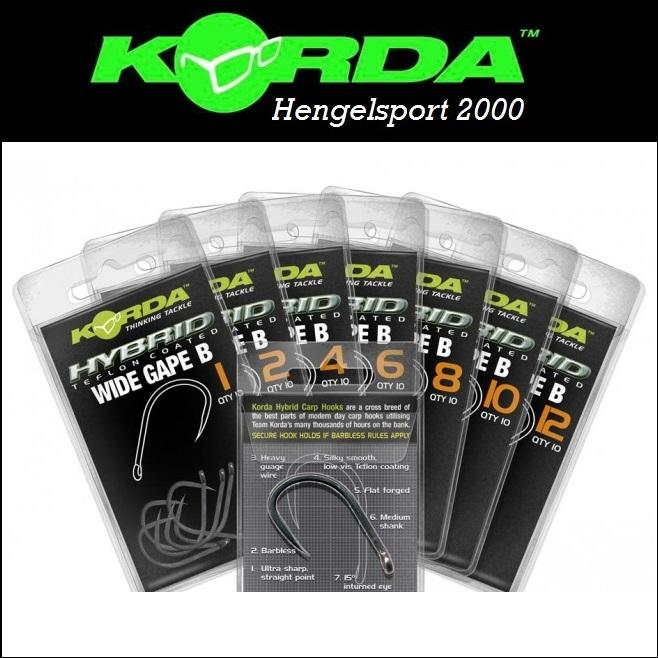 Korda Wide Gape Barbless Hook