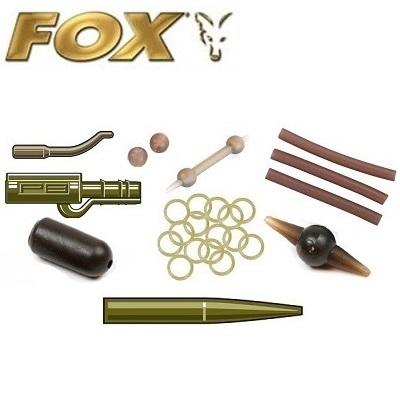 Fox rubbers and beads